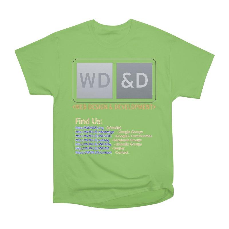 [WD&D] Web Design and Development group (SiteDesign) Women's Heavyweight Unisex T-Shirt by Logo Gear & Logo Wear
