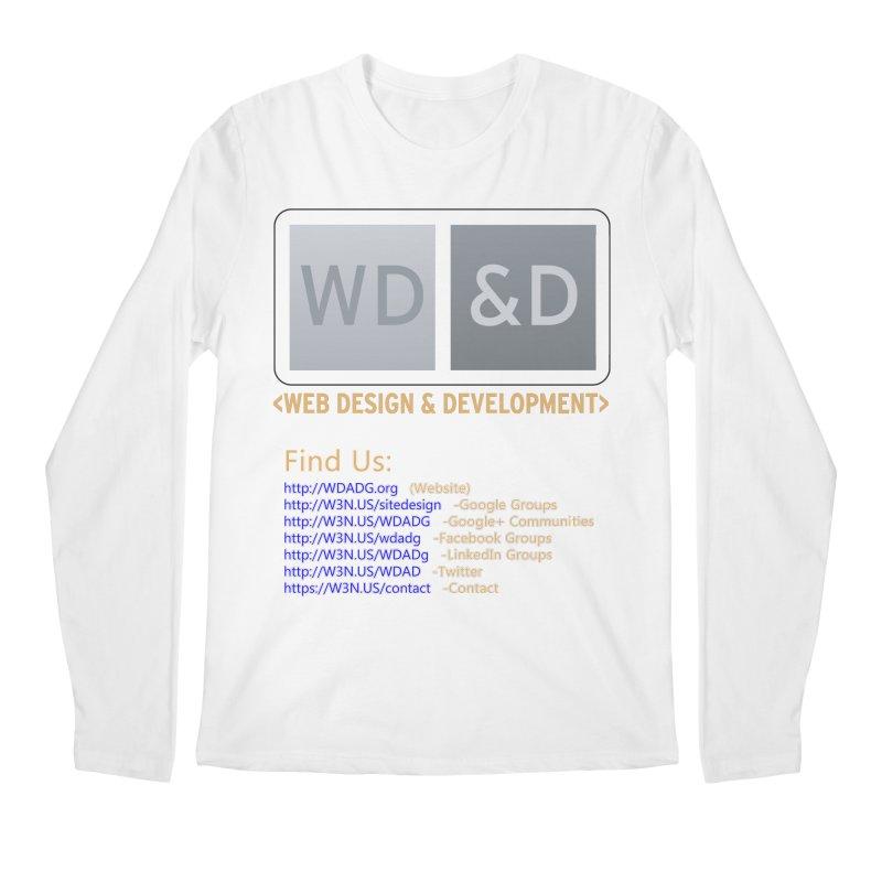 [WD&D] Web Design and Development group (SiteDesign) Men's Regular Longsleeve T-Shirt by Logo Gear & Logo Wear