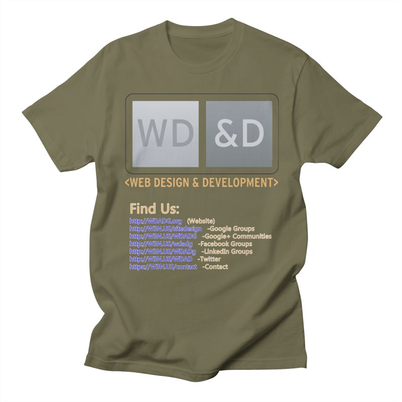 [WD&D] Web Design and Development group (SiteDesign) Women's Regular Unisex T-Shirt by Logo Gear & Logo Wear