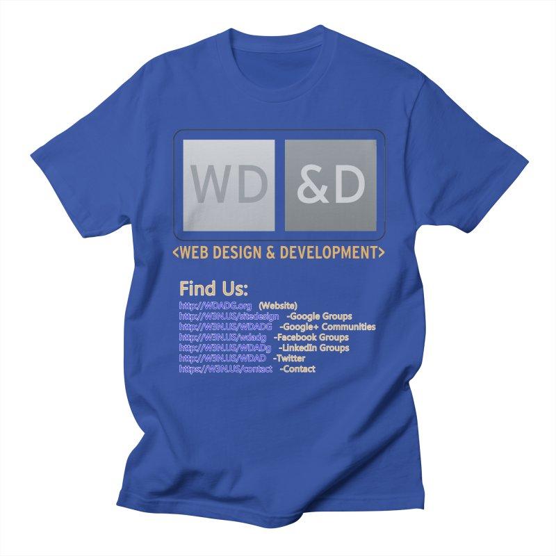 [WD&D] Web Design and Development group (SiteDesign) Women's Unisex T-Shirt by Logo Gear & Logo Wear
