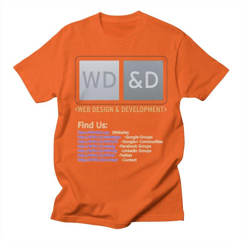 [WD&D] Web Design and Development group (SiteDesign) Women's Regular Unisex T-Shirt by Logo Gear & Logo Wear