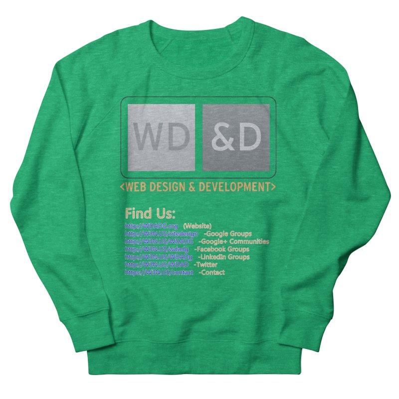 [WD&D] Web Design and Development group (SiteDesign) Men's French Terry Sweatshirt by Logo Gear & Logo Wear