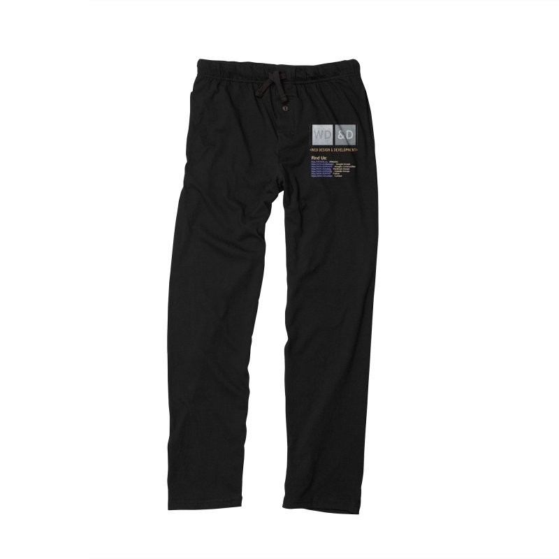 [WD&D] Web Design and Development group (SiteDesign) Men's Lounge Pants by Logo Gear & Logo Wear