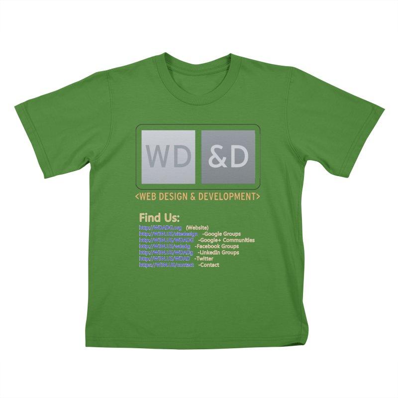 [WD&D] Web Design and Development group (SiteDesign) Kids T-Shirt by Logo Gear & Logo Wear