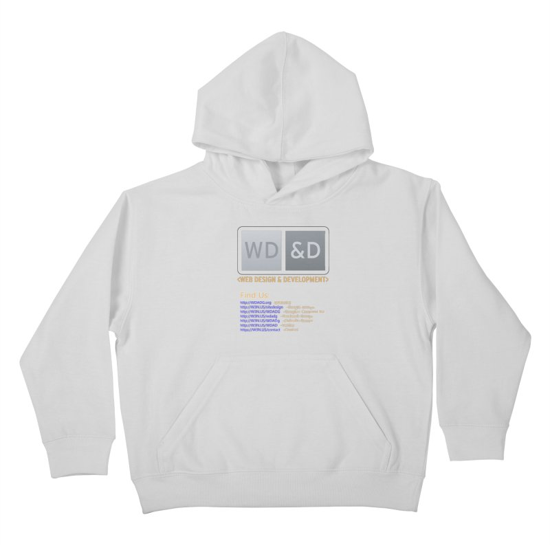 [WD&D] Web Design and Development group (SiteDesign) Kids Pullover Hoody by Logo Gear & Logo Wear