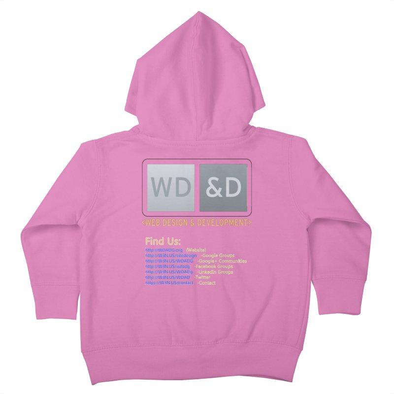 [WD&D] Web Design and Development group (SiteDesign) Kids Toddler Zip-Up Hoody by Logo Gear & Logo Wear