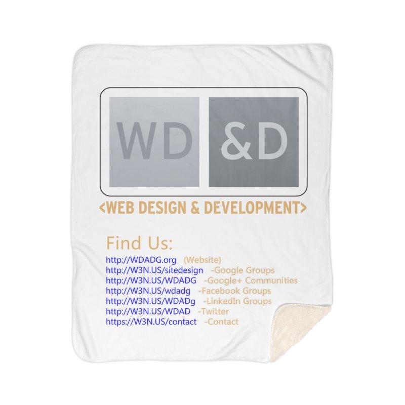 [WD&D] Web Design and Development group (SiteDesign) Home Sherpa Blanket Blanket by Logo Gear & Logo Wear