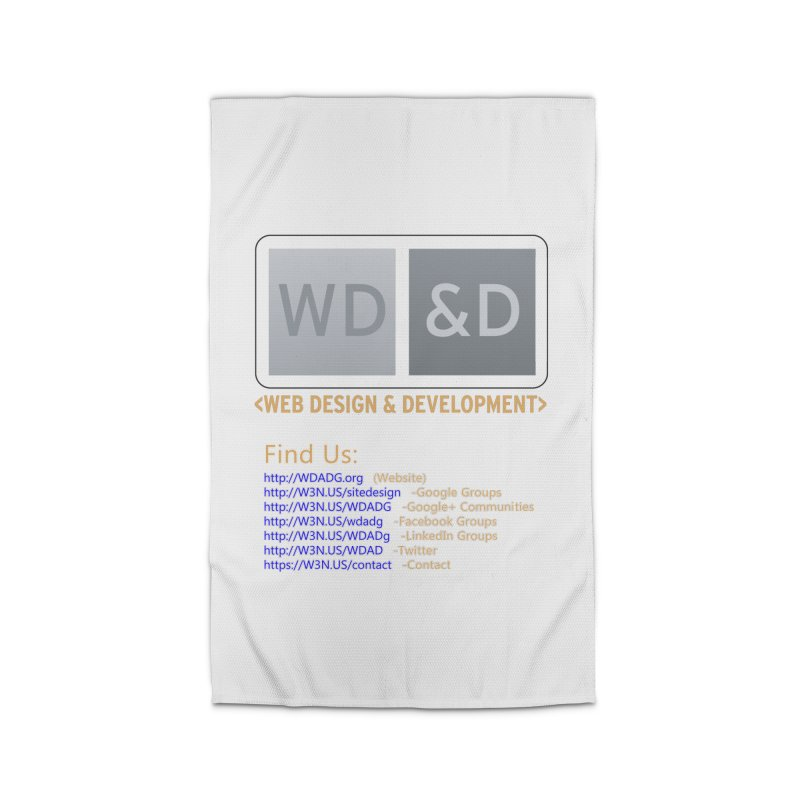 [WD&D] Web Design and Development group (SiteDesign) Home Rug by Logo Gear & Logo Wear