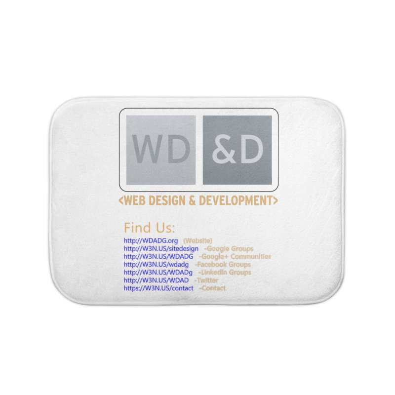 [WD&D] Web Design and Development group (SiteDesign) Home Bath Mat by Logo Gear & Logo Wear