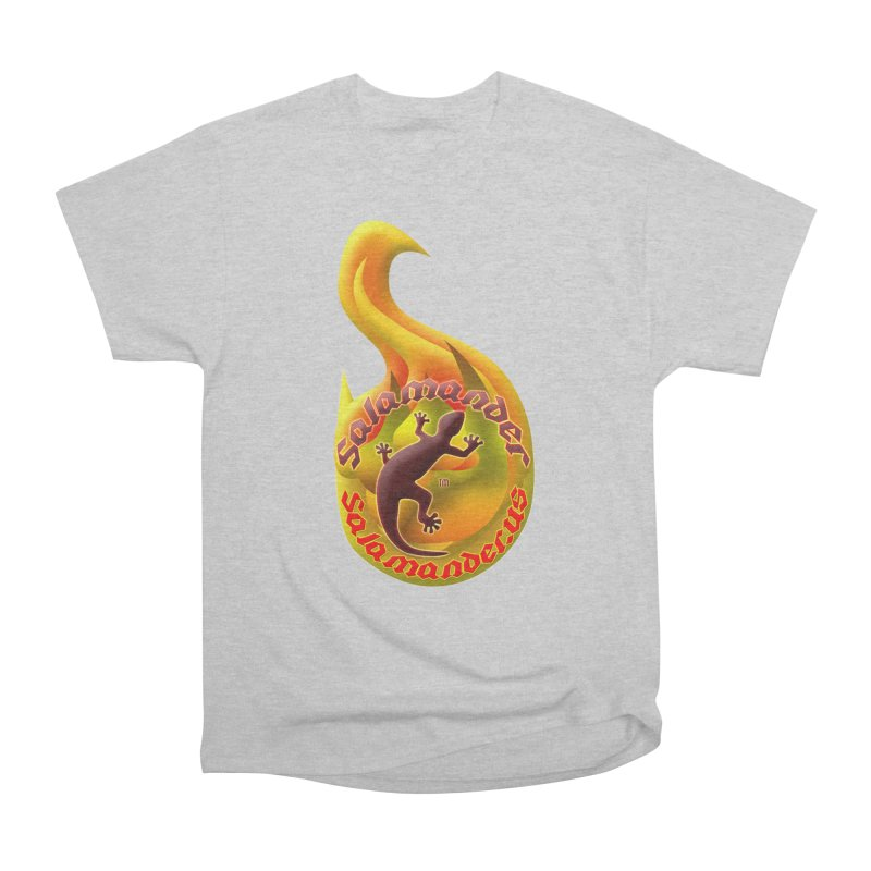 Salamander (Salamander.US) Men's Heavyweight T-Shirt by Logo Gear & Logo Wear