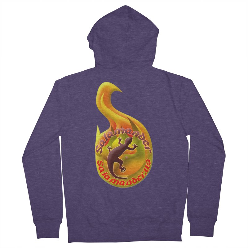 Salamander (Salamander.US) Men's French Terry Zip-Up Hoody by Logo Gear & Logo Wear