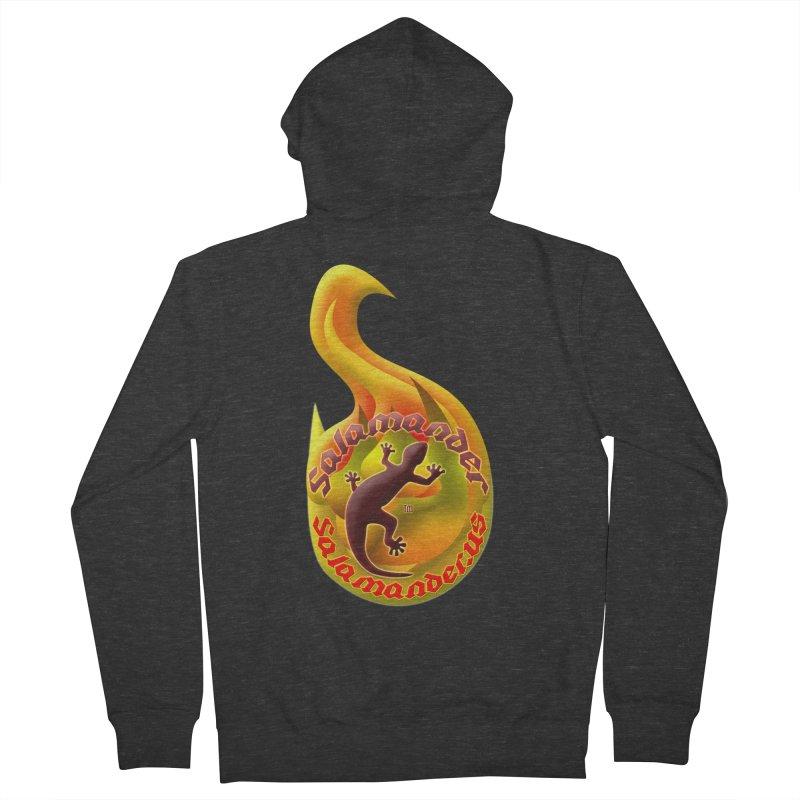 Salamander (Salamander.US) Men's French Terry Zip-Up Hoody by Logo Gear & Logo Wear