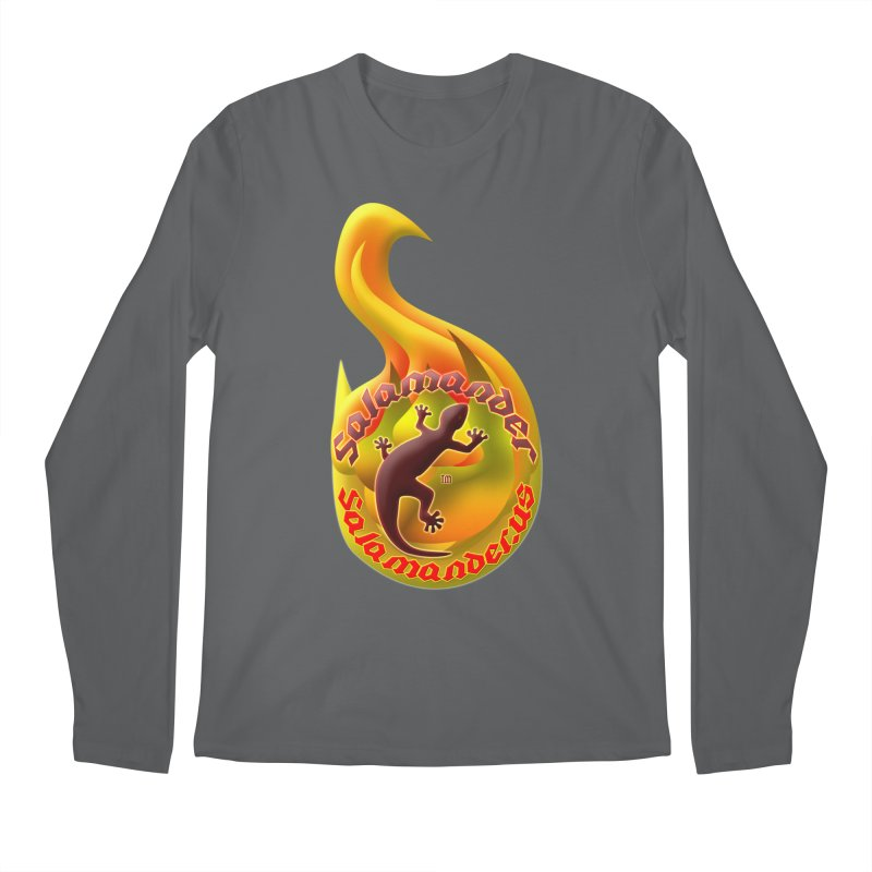 Salamander (Salamander.US) Men's Regular Longsleeve T-Shirt by Logo Gear & Logo Wear