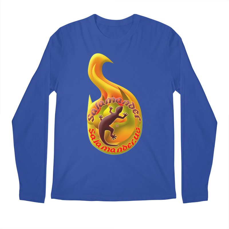Salamander (Salamander.US) Men's Regular Longsleeve T-Shirt by Logo Gear & Logo Wear