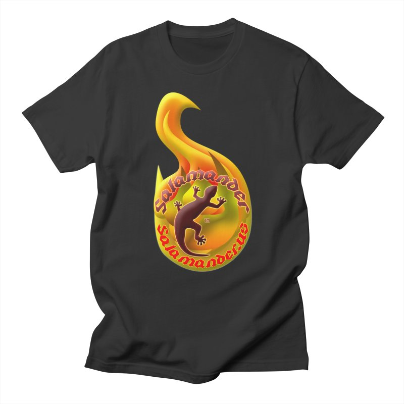 Salamander (Salamander.US) Men's Regular T-Shirt by Logo Gear & Logo Wear