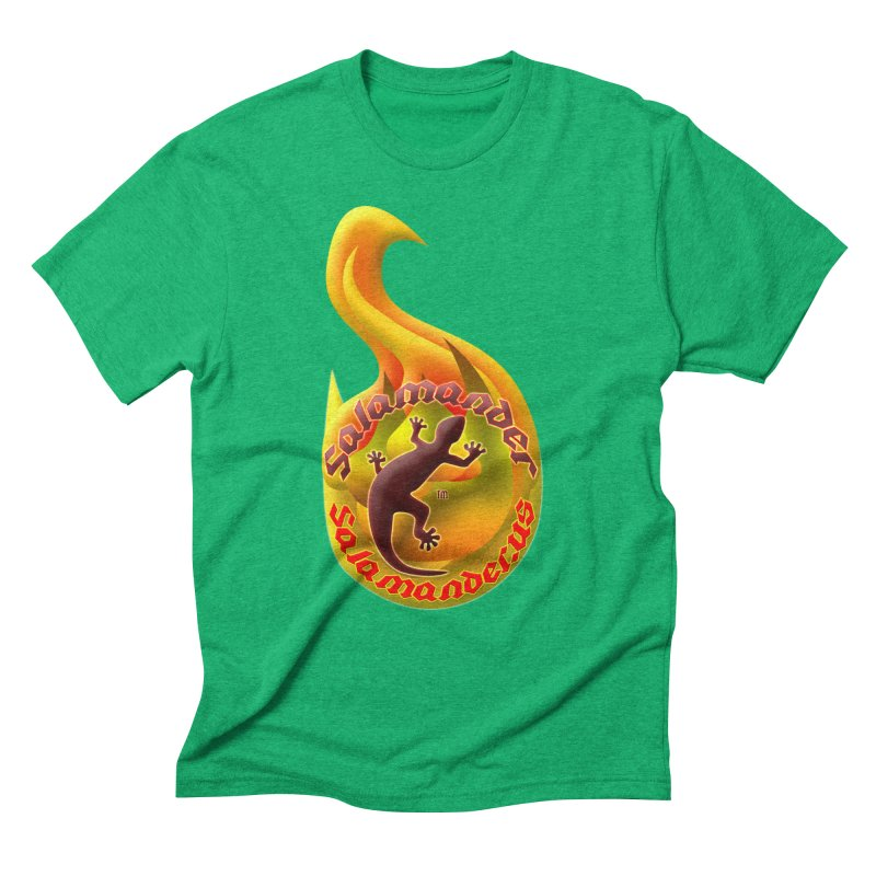 Salamander (Salamander.US) Men's Triblend T-Shirt by Logo Gear & Logo Wear