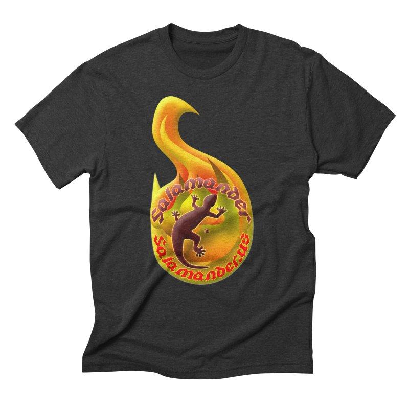 Salamander (Salamander.US) Men's Triblend T-Shirt by Logo Gear & Logo Wear