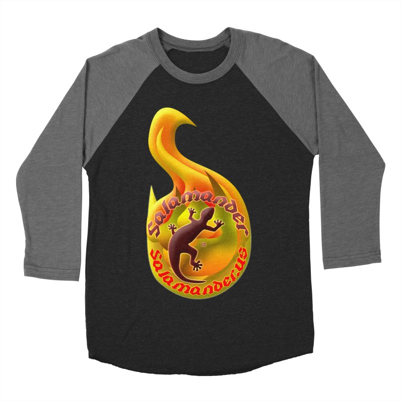 Salamander (Salamander.US) Men's Baseball Triblend Longsleeve T-Shirt by Logo Gear & Logo Wear