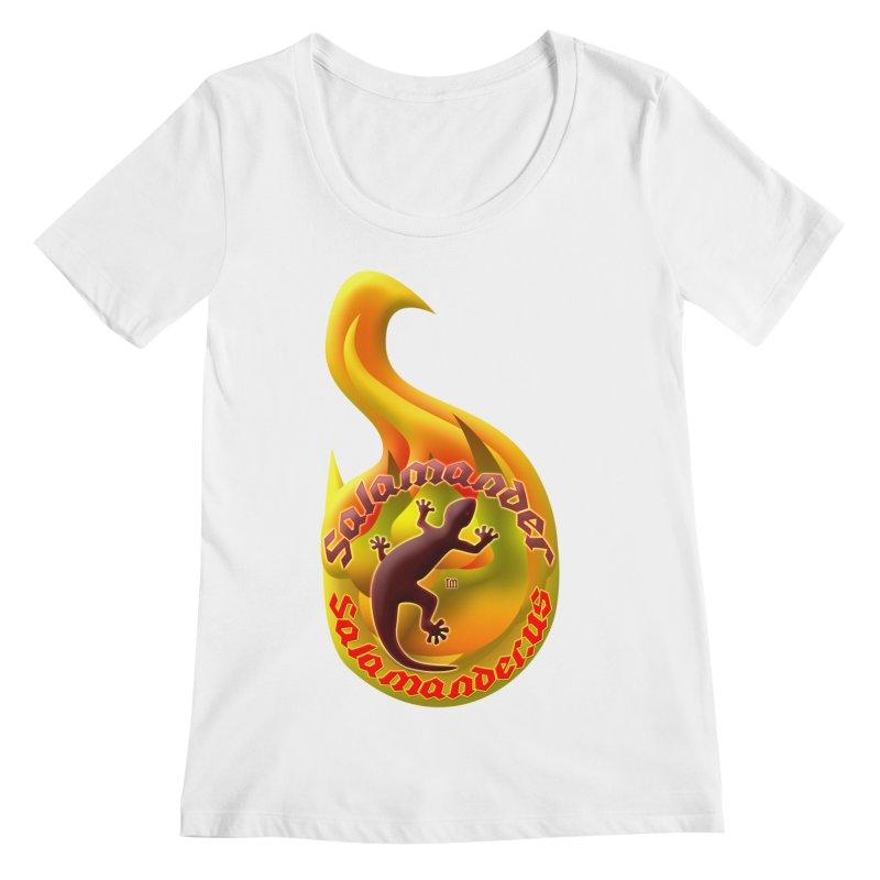 Salamander (Salamander.US) Women's Scoopneck by Logo Gear & Logo Wear