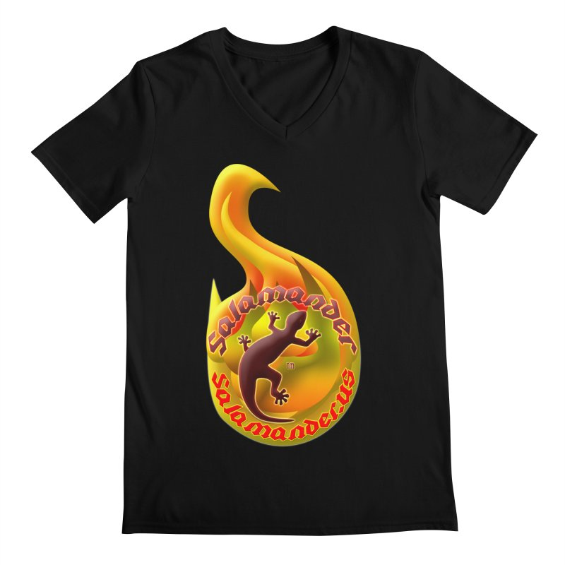 Salamander (Salamander.US) Men's Regular V-Neck by Logo Gear & Logo Wear