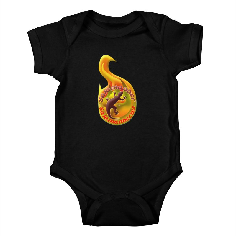 Salamander (Salamander.US) Kids Baby Bodysuit by Logo Gear & Logo Wear