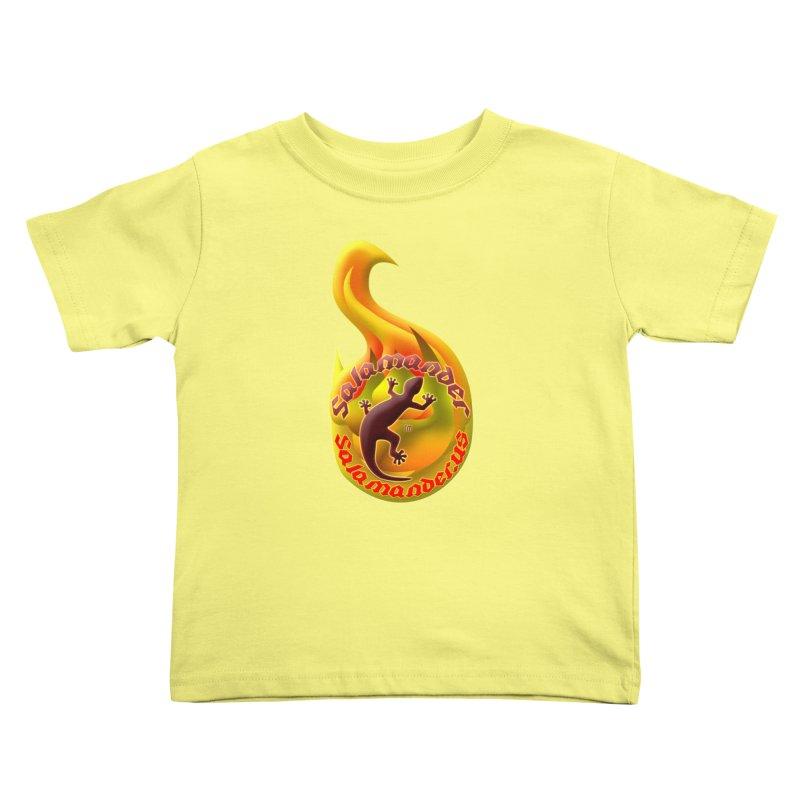 Salamander (Salamander.US) Kids Toddler T-Shirt by Logo Gear & Logo Wear