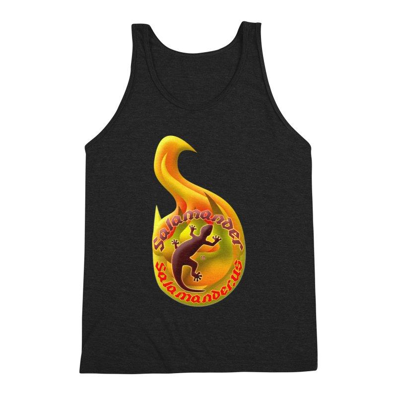 Salamander (Salamander.US) Men's Triblend Tank by Logo Gear & Logo Wear