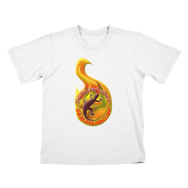 Salamander (Salamander.US) Kids T-Shirt by Logo Gear & Logo Wear