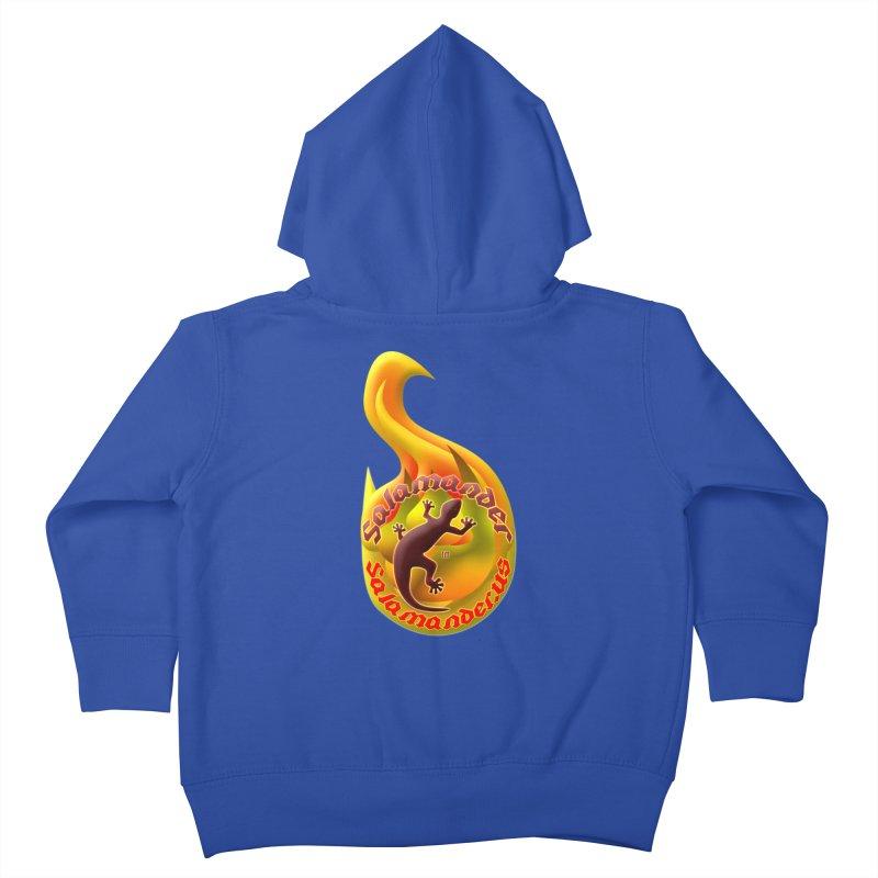 Salamander (Salamander.US) Kids Toddler Zip-Up Hoody by Logo Gear & Logo Wear