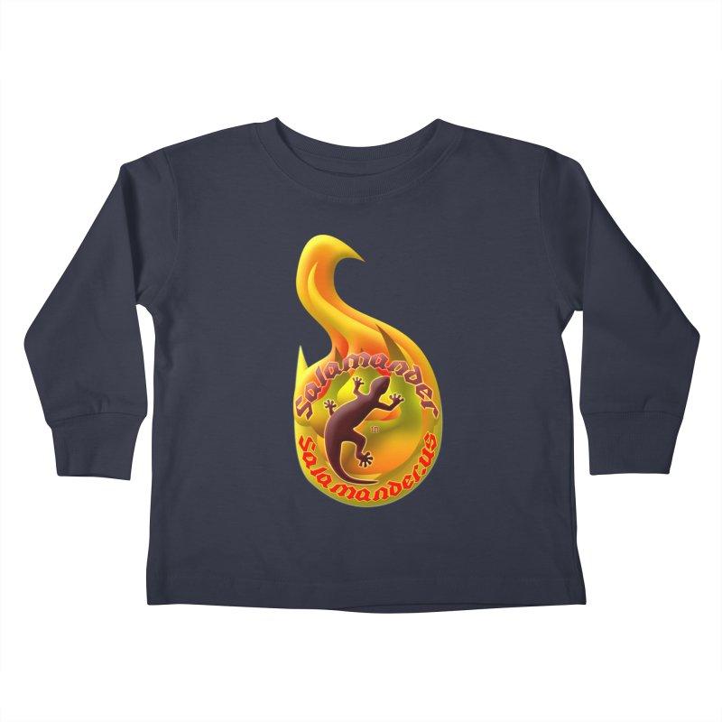 Salamander (Salamander.US) Kids Toddler Longsleeve T-Shirt by Logo Gear & Logo Wear