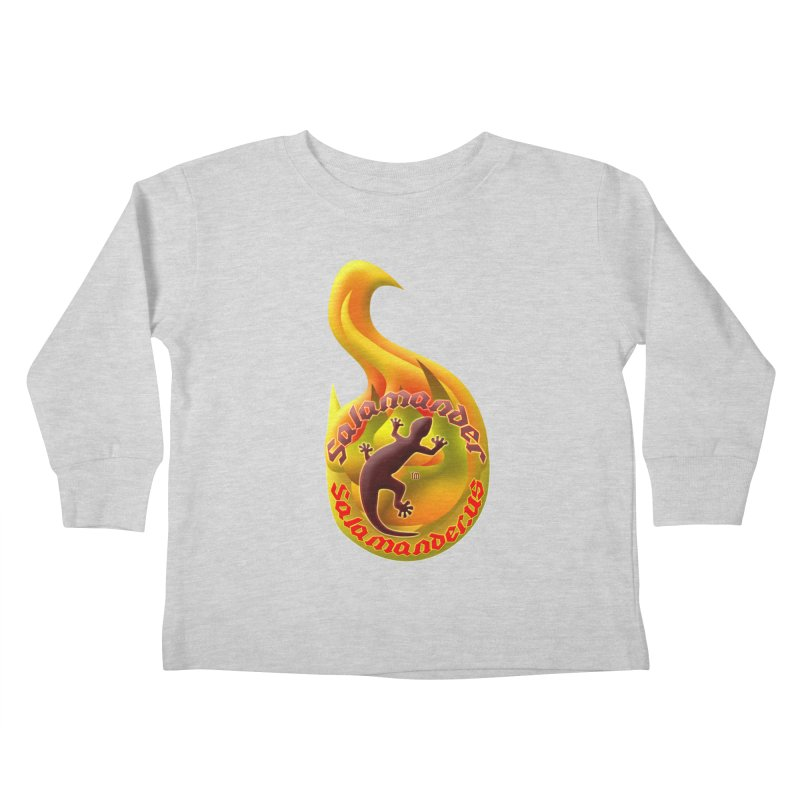 Salamander (Salamander.US) Kids Toddler Longsleeve T-Shirt by Logo Gear & Logo Wear