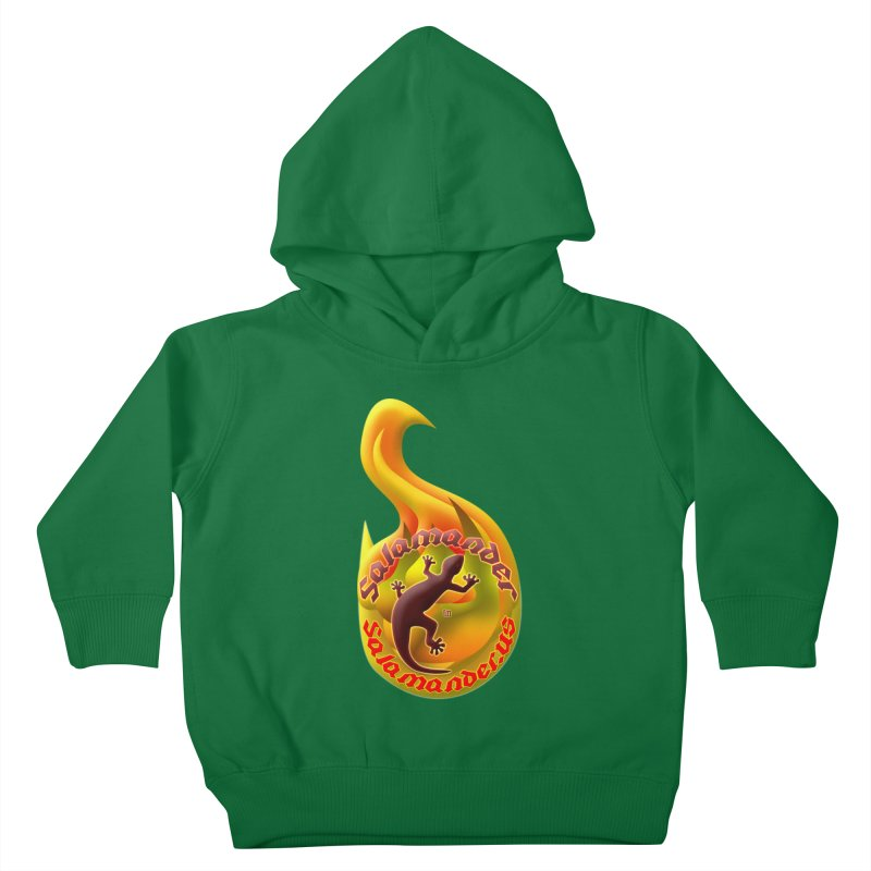 Salamander (Salamander.US) Kids Toddler Pullover Hoody by Logo Gear & Logo Wear