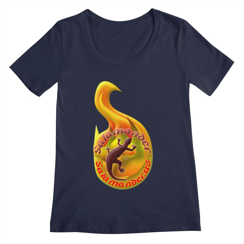 Salamander (Salamander.US) Women's Regular Scoop Neck by Logo Gear & Logo Wear