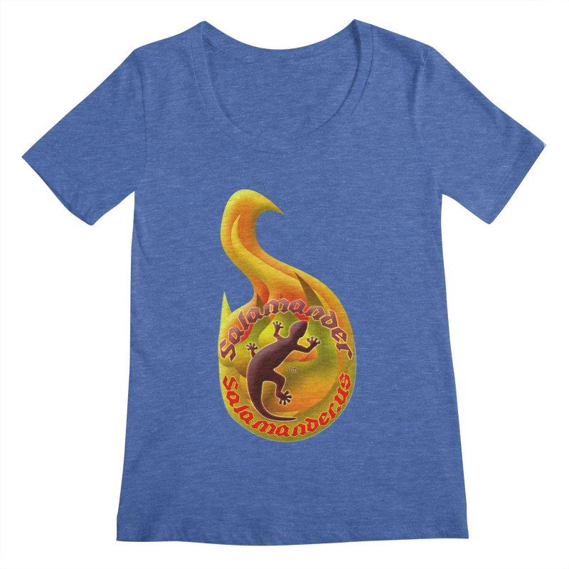 Salamander (Salamander.US) Women's Regular Scoop Neck by Logo Gear & Logo Wear
