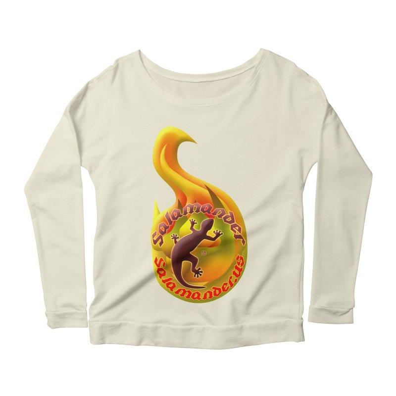 Salamander (Salamander.US) Women's Longsleeve Scoopneck  by Logo Gear & Logo Wear