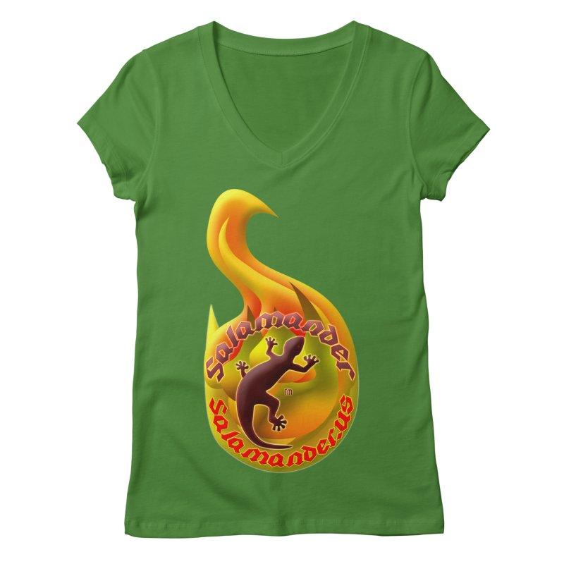 Salamander (Salamander.US) Women's Regular V-Neck by Logo Gear & Logo Wear