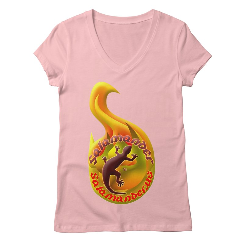 Salamander (Salamander.US) Women's V-Neck by Logo Gear & Logo Wear