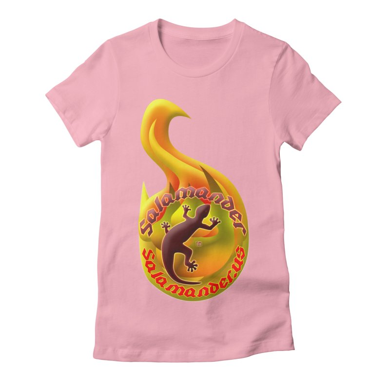 Salamander (Salamander.US) Women's Fitted T-Shirt by Logo Gear & Logo Wear