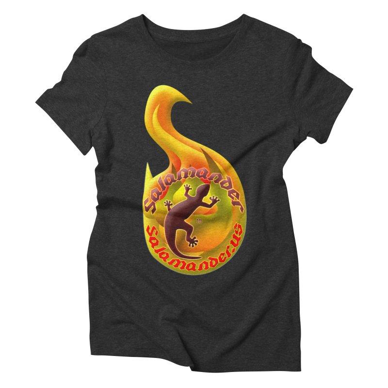 Salamander (Salamander.US) Women's Triblend T-Shirt by Logo Gear & Logo Wear