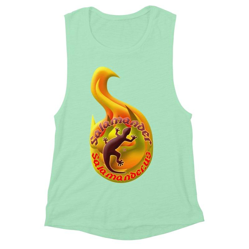 Salamander (Salamander.US) Women's Muscle Tank by Logo Gear & Logo Wear