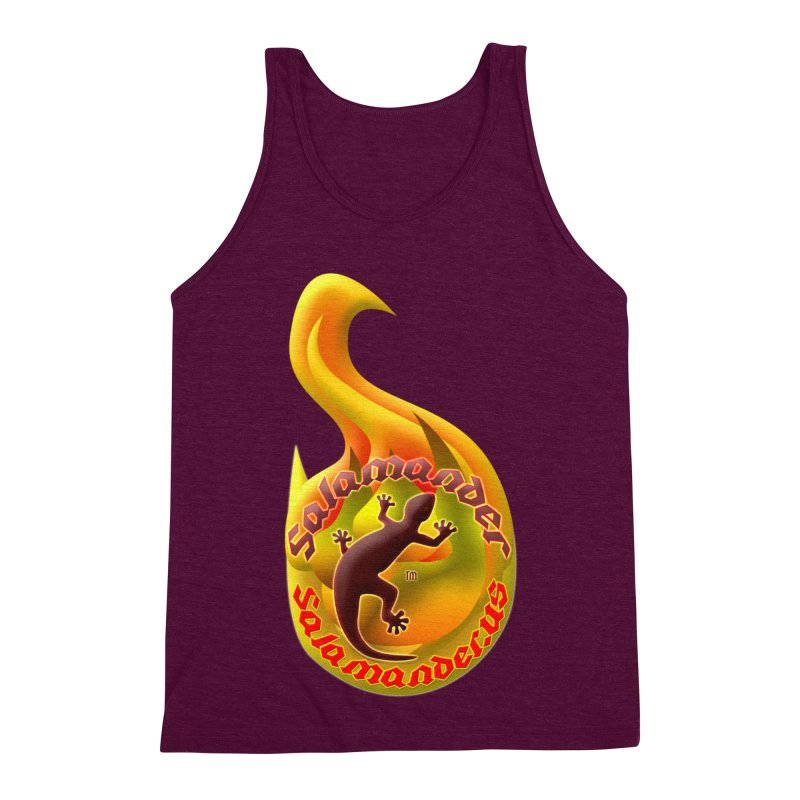 Salamander (Salamander.US) Men's Triblend Tank by Logo Gear & Logo Wear
