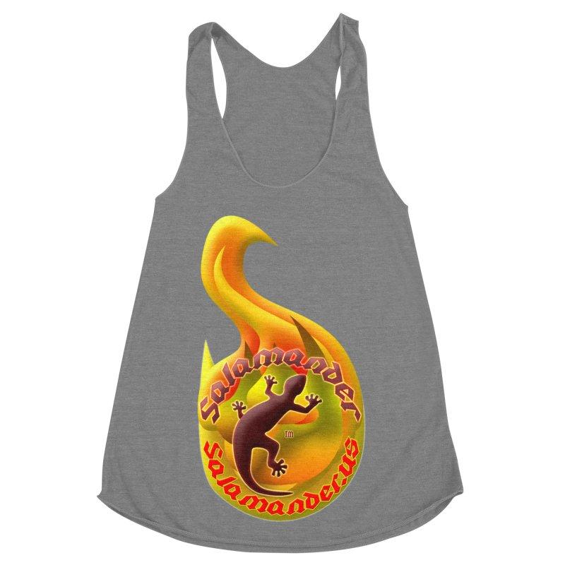 Salamander (Salamander.US) Women's Racerback Triblend Tank by Logo Gear & Logo Wear