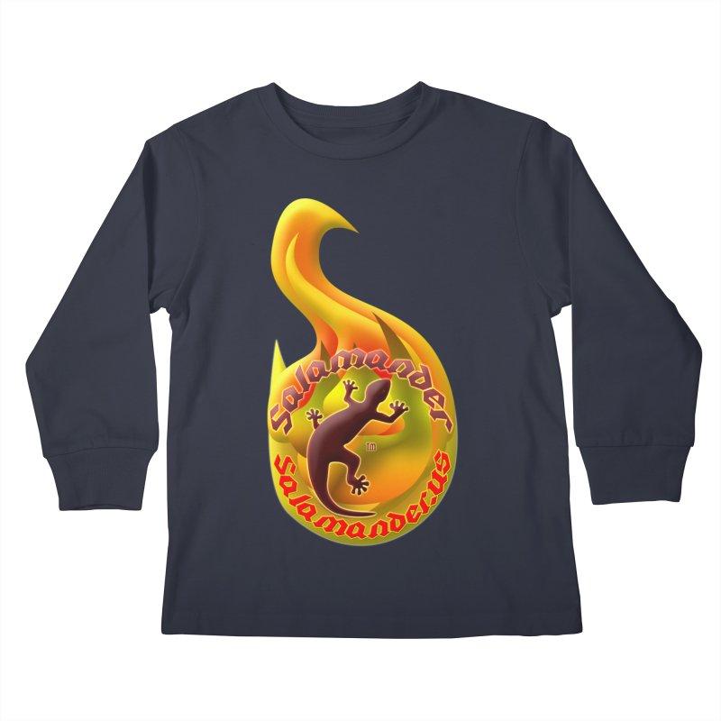 Salamander (Salamander.US) Kids Longsleeve T-Shirt by Logo Gear & Logo Wear