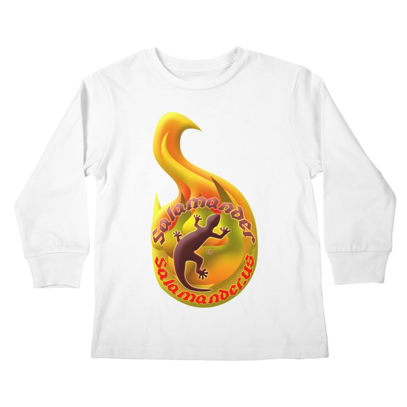Salamander (Salamander.US) Kids Longsleeve T-Shirt by Logo Gear & Logo Wear