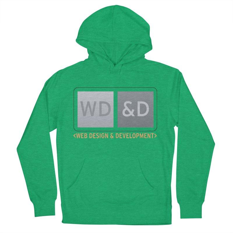 WD&D <WEB DESIGN & DEVELOPMENT> Men's French Terry Pullover Hoody by Logo Gear & Logo Wear