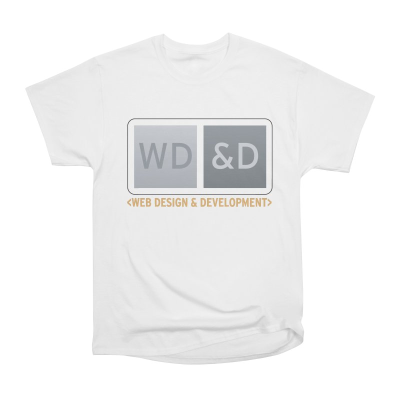WD&D <WEB DESIGN & DEVELOPMENT> Men's Heavyweight T-Shirt by Logo Gear & Logo Wear