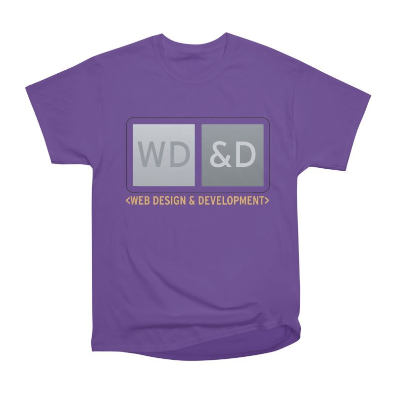 WD&D <WEB DESIGN & DEVELOPMENT> Women's Heavyweight Unisex T-Shirt by Logo Gear & Logo Wear