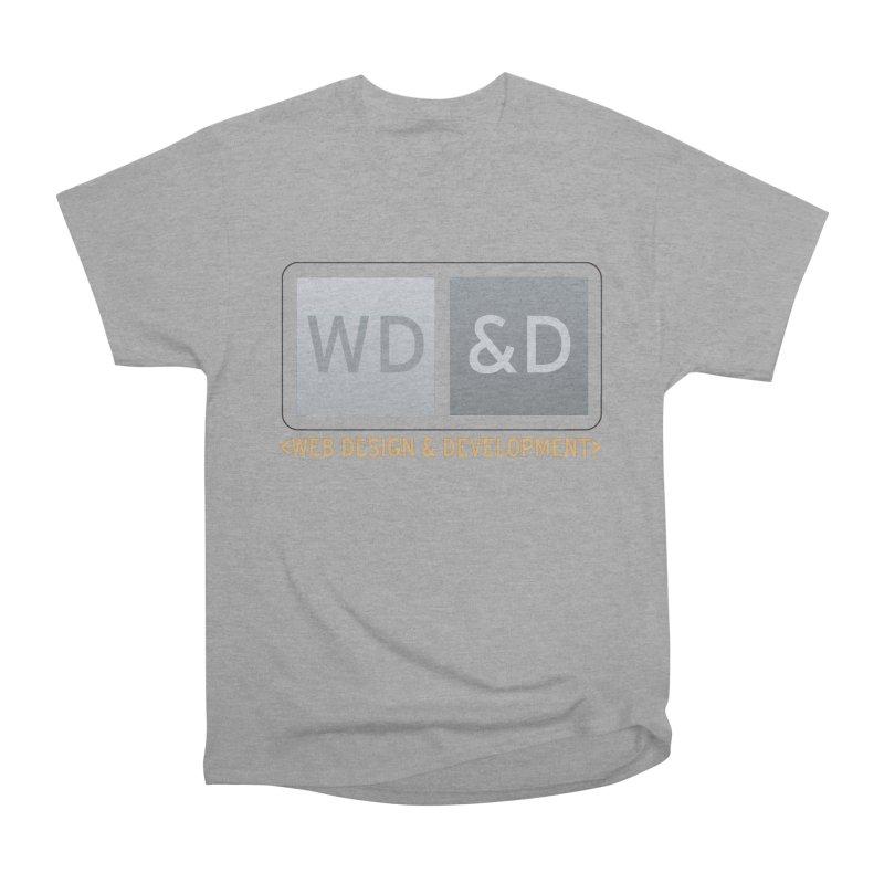 WD&D <WEB DESIGN & DEVELOPMENT> Women's Heavyweight Unisex T-Shirt by Logo Gear & Logo Wear