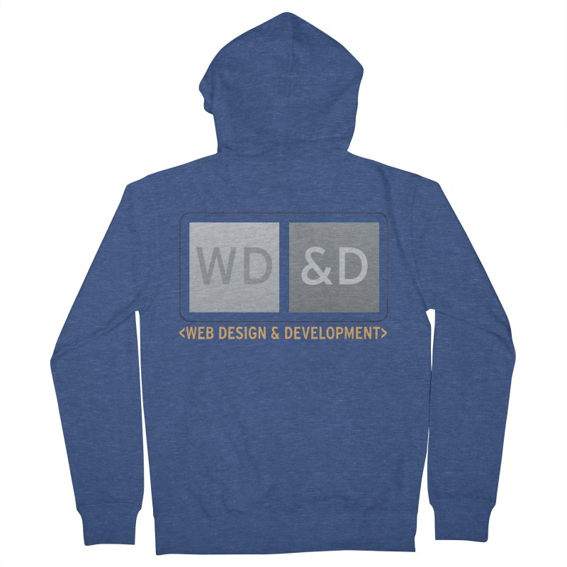 WD&D <WEB DESIGN & DEVELOPMENT> Women's French Terry Zip-Up Hoody by Logo Gear & Logo Wear