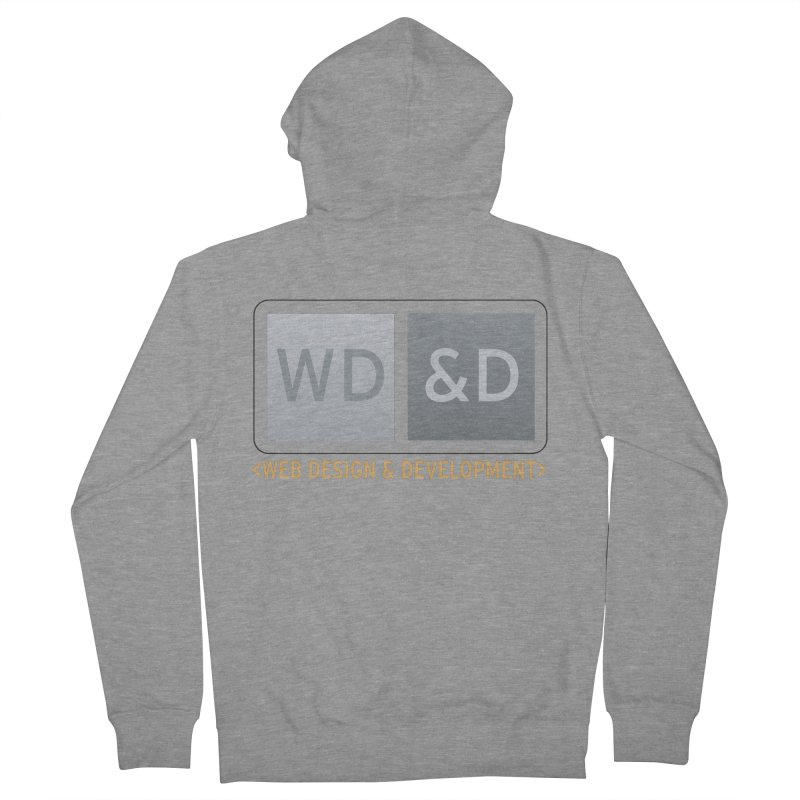 WD&D <WEB DESIGN & DEVELOPMENT> Women's French Terry Zip-Up Hoody by Logo Gear & Logo Wear